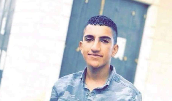 Palestinian teenager Ayman Hamed was 17 when he was fatally shot by Israeli forces. (Photo: Courtesy of the Hamed family)