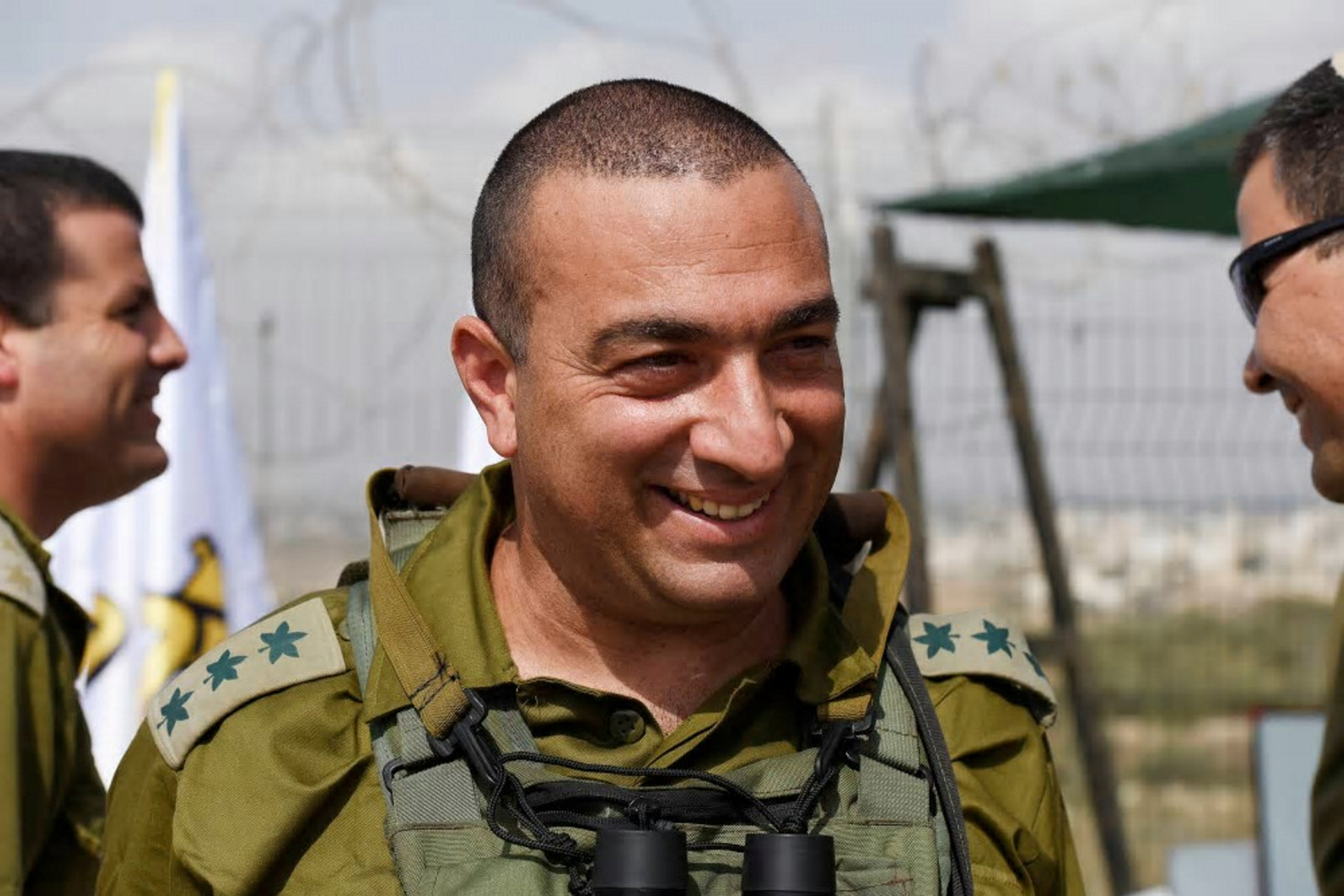 Colonel Yisrael Shomer. (Photo: Israeli military spokesperson)