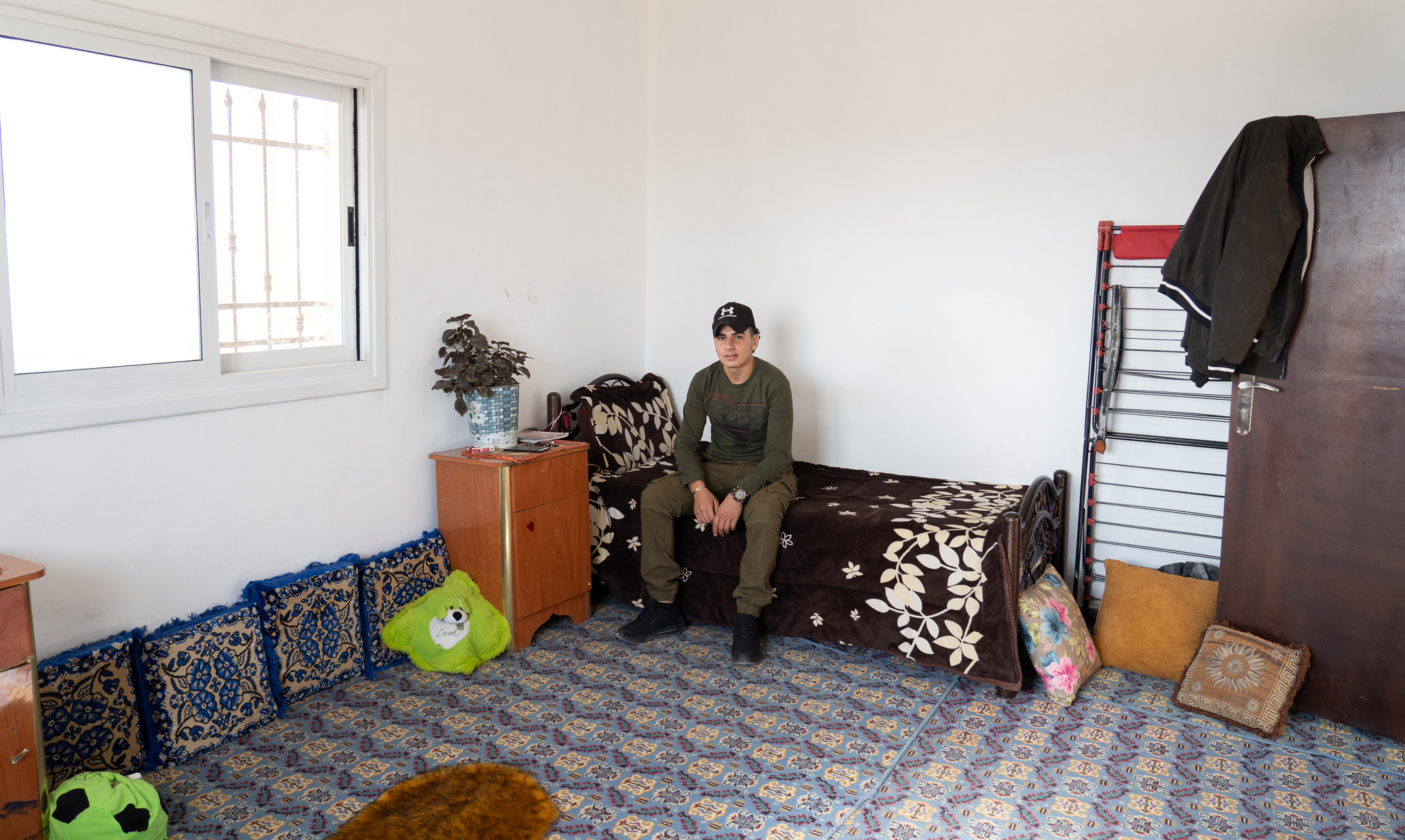 Ismail T. was asleep in his bedroom when Israeli forces raided his home and arrested him on January 7, 2019. (Photo: DCIP)