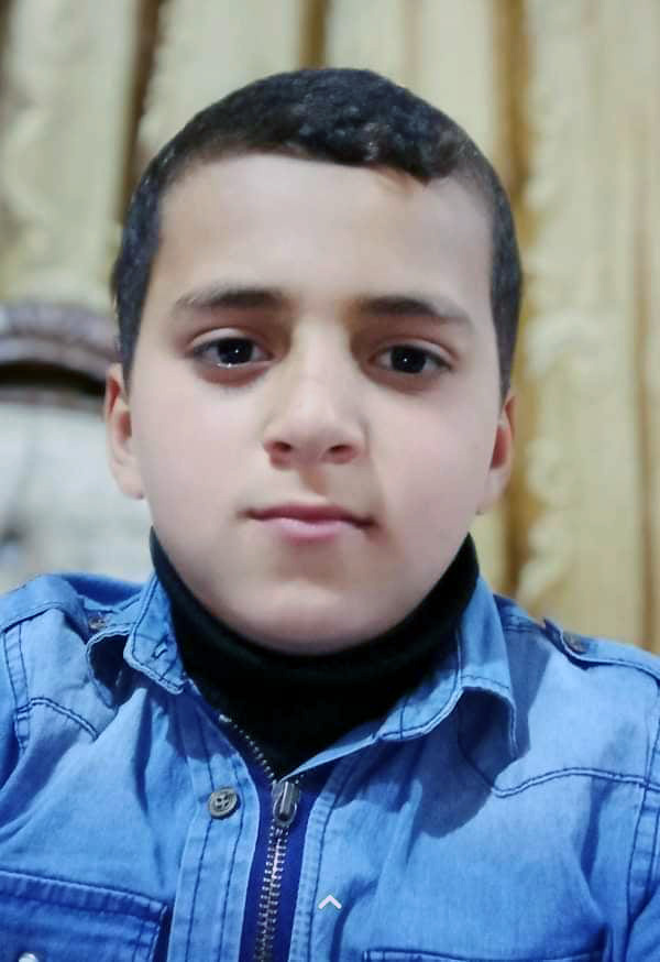 Hussein Hamad, 11, was killed in a blast on May 10 in the northern Gaza Strip. (Photo courtesy of Hamad family)