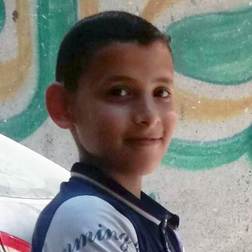 12-year-old Abdullah Ashraf Abdullah Jouda was killed around 8 p.m. on May 14, 2021, when Israeli warplanes fired two missiles at a residential building in the heart of Gaza City. (Photo courtesy of the Jouda family)