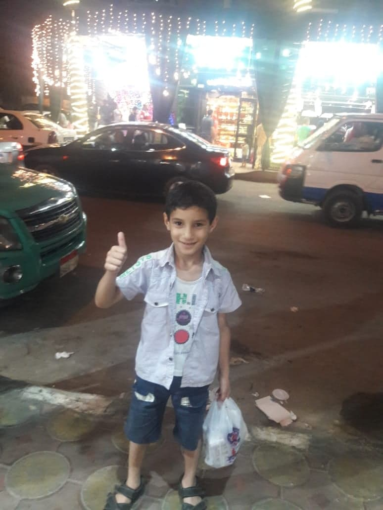 10-year-old Yahya Mohammad Sobhi al-Hadidi was killed alongside three of his brothers and his mother in an Israeli airstrike on a home Al-Shati refugee camp on May 15. (Photo courtesy of the al-Hadidi family.)