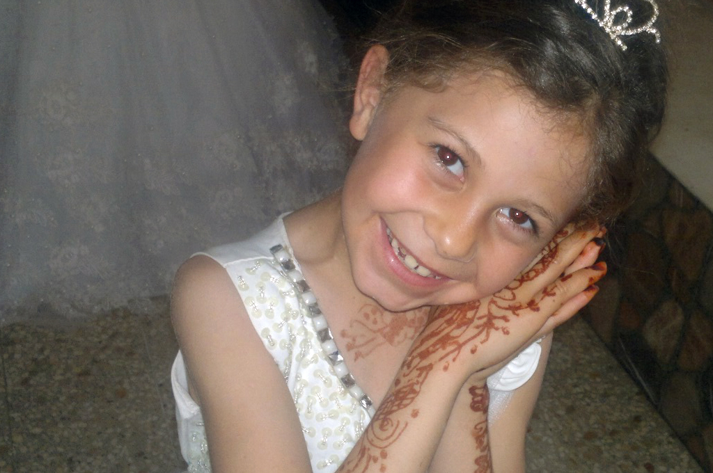 Dima Sa'd Ali Asaliya, 10, was killed when shrapnel from a missile fired by an Israeli weaponized drone struck her in Jabalia in the northern Gaza Strip on May 19. (Photo courtesy of the Asaliya family)