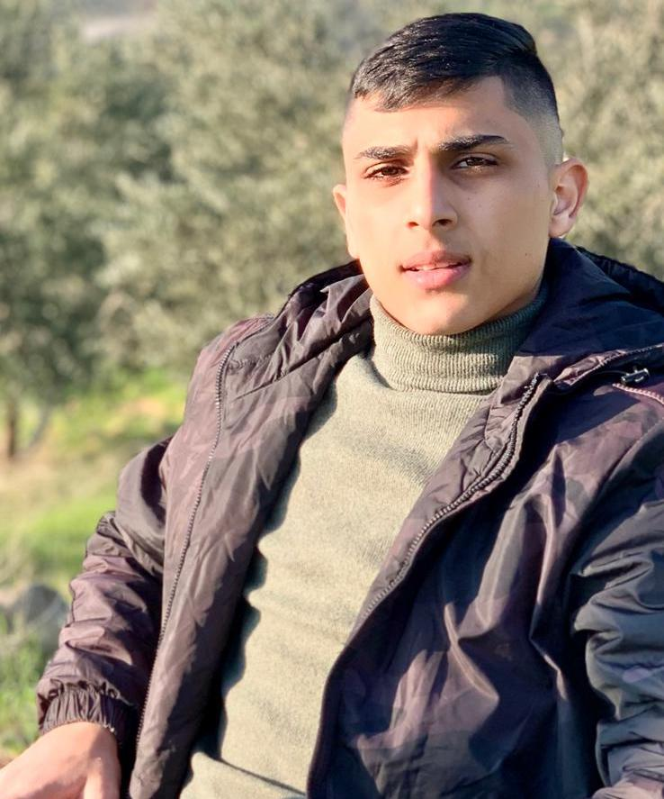 An Israeli military court judge at Ofer military court approved a six-month administrative detention order against Mohammad Ghassan Ahmad Mansour, 17, on April 25. (Photo courtesy of the Mansour family)