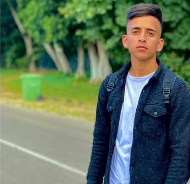 Bara' Yousef Mohammad Ahmad Mohammad, 17, is currently being detained under a four-month administrative detention order that was issued days after he was released from Israeli custody. (Photo courtesy of the Mohammad family)