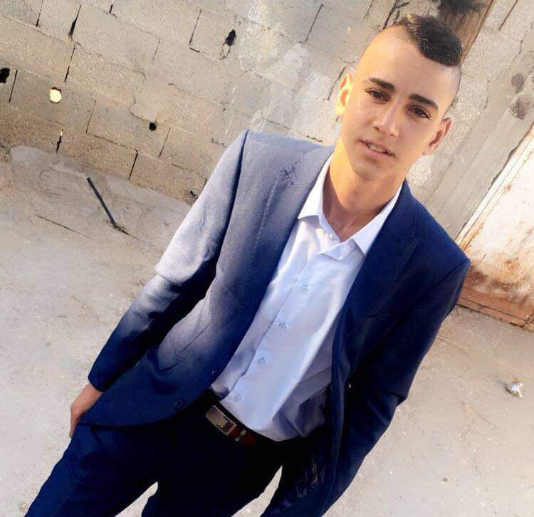 Ahmad Anwar Ahmad Bayed, 17, from Aqabat Jaber refugee camp is currently detained under a four-month administrative detention order that was approved by an Israeli military court judge on May 15. (Photo courtesy of the Bayed family)