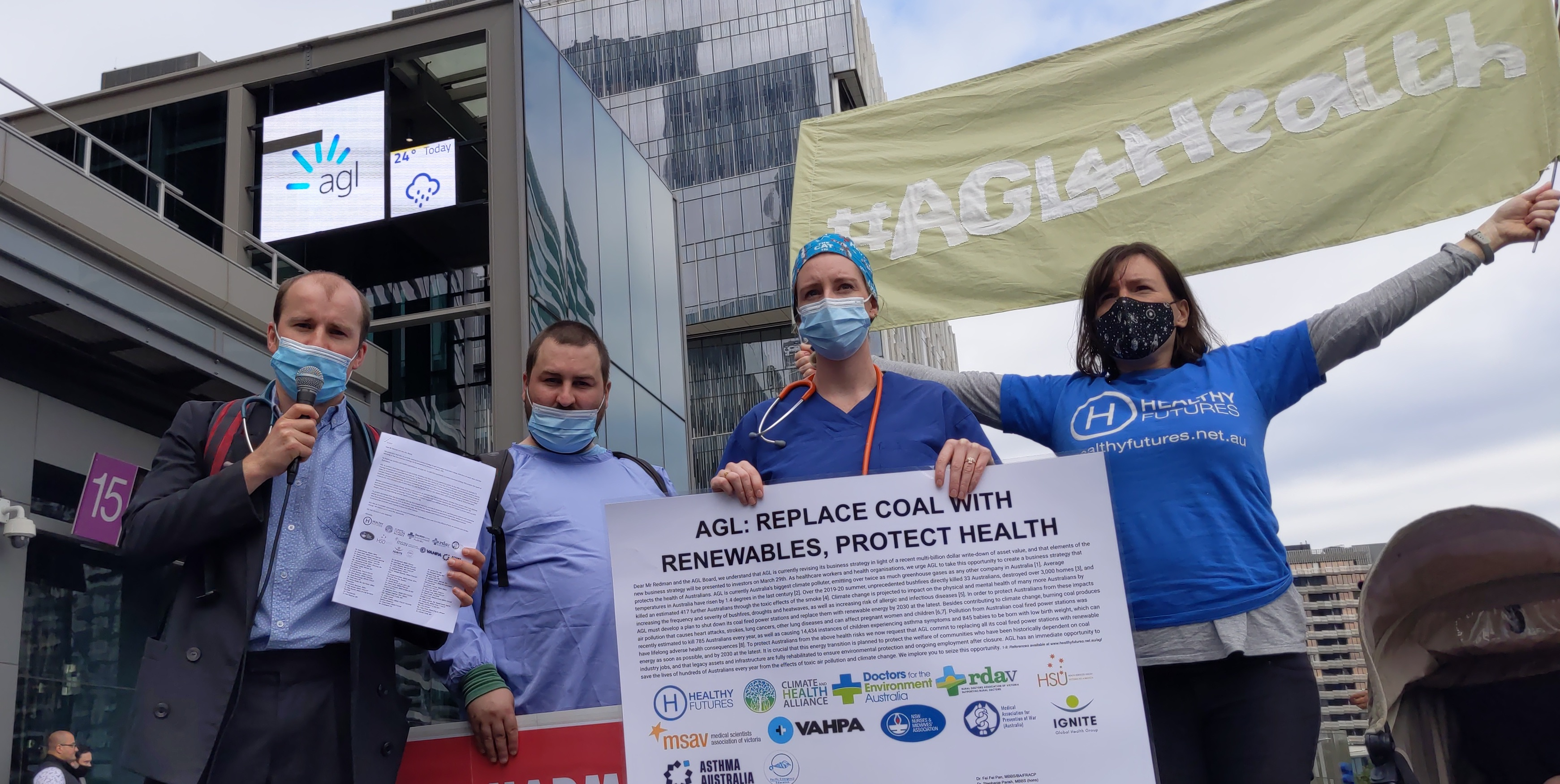 RACP | If you're an RACP member<br>ask them to advocate<br>to replace coal with renewables