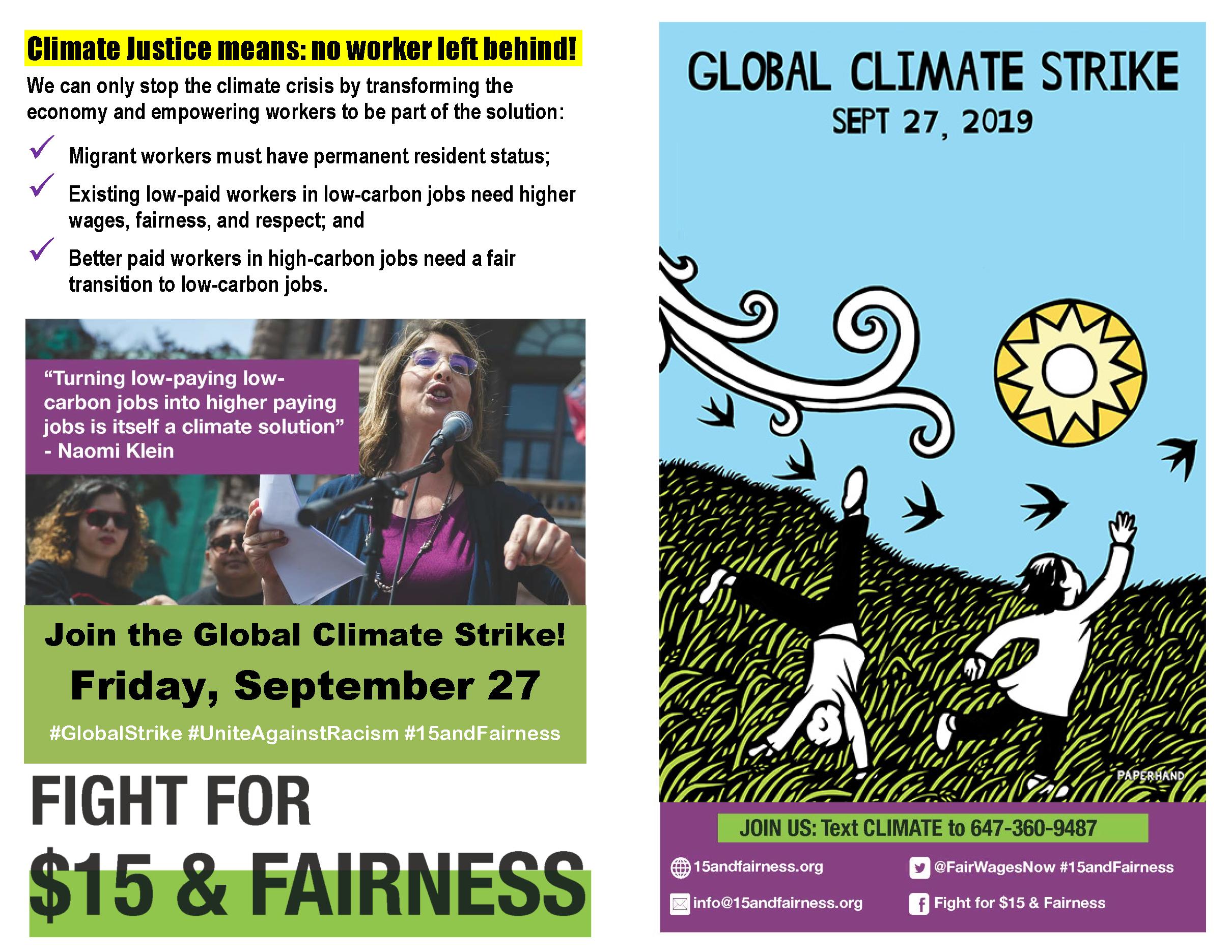 Climate Strike FF15