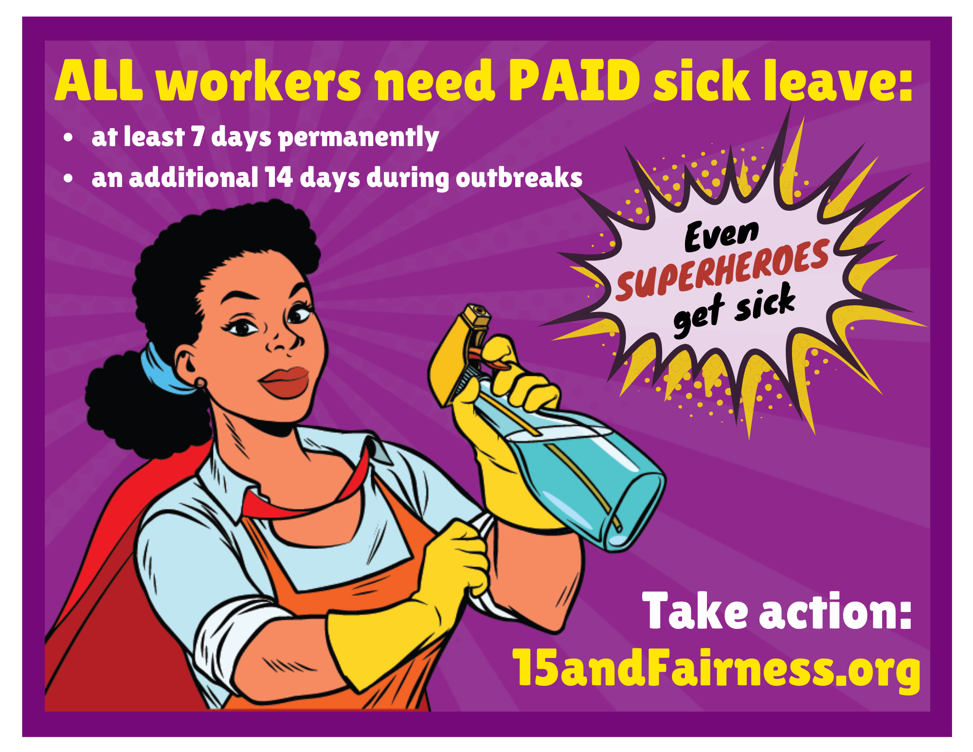 We all need paid sick days