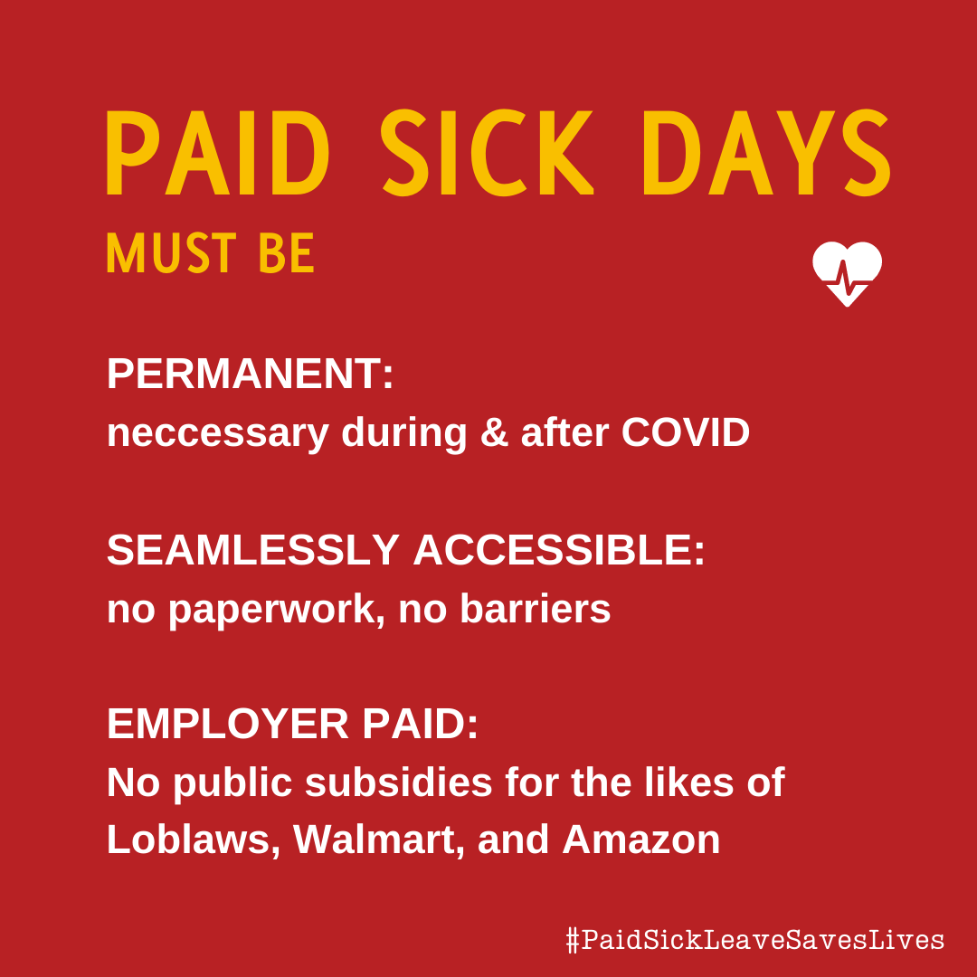 Sharable: Principles for paid sick days
