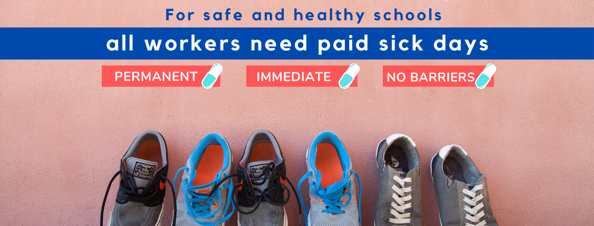 Safe Schools need Paid Sick Days