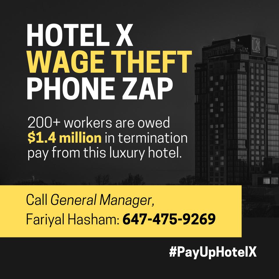 Phone zap: #payuphotelx