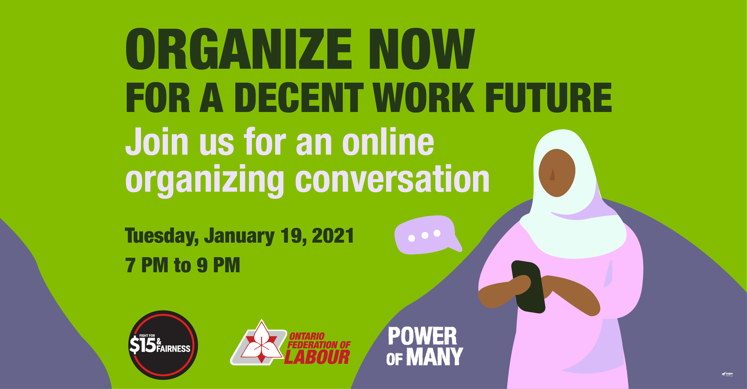 Decent Work Organizing Meeting