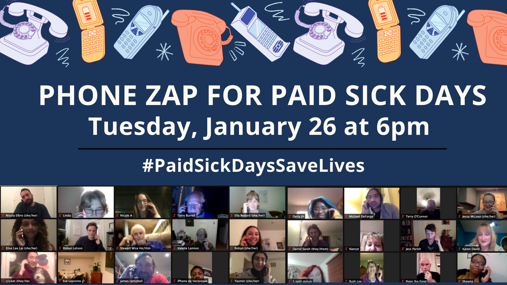 Paid Sick Days Save Lives - J26 Sharable