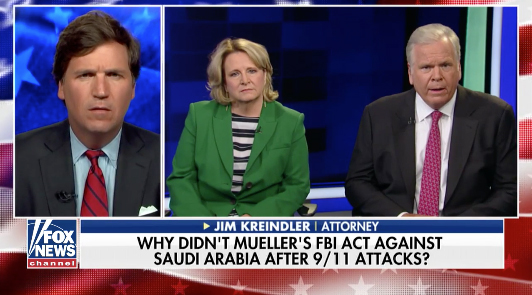 9/11 family member appeared on Fox TV to plead that President Trump release the 9/11 documents