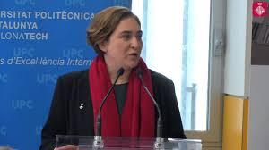 Housing rights activist Ada Colau