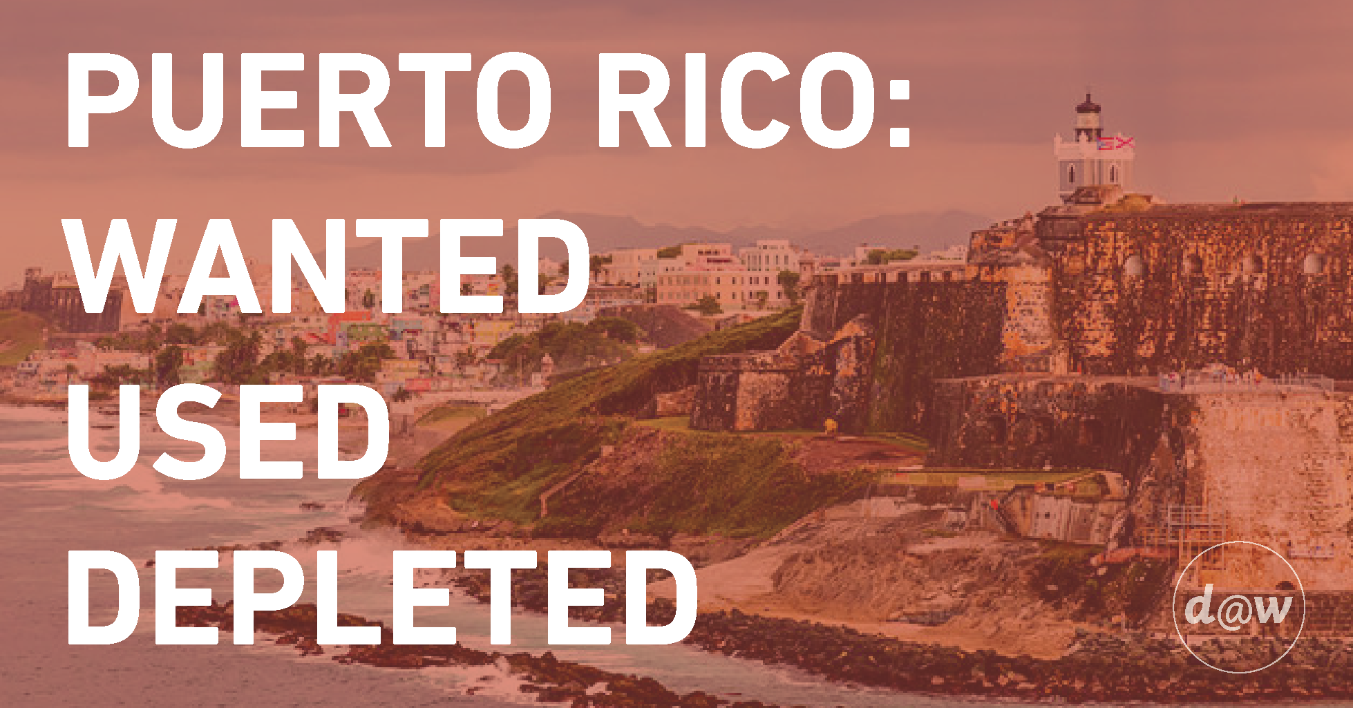 Puerto Rico Wanted Used Depleted