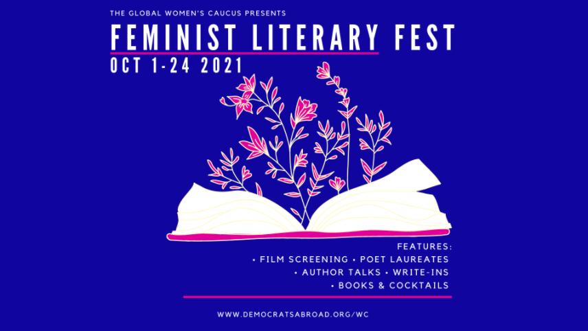GWC Feminist Literary Fest Banner