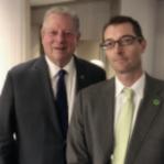 Chris Kozak(right) with Al Gore