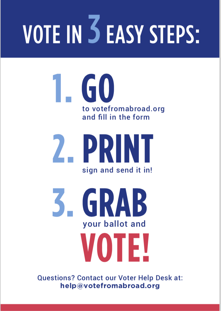 ask your stateside alma mater to help study abroad students vote
