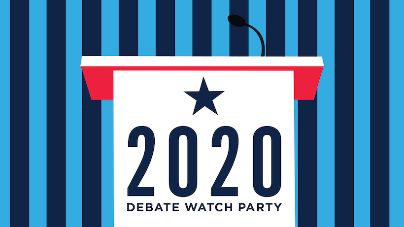 Watch The Primary Debates With Dems Abroad