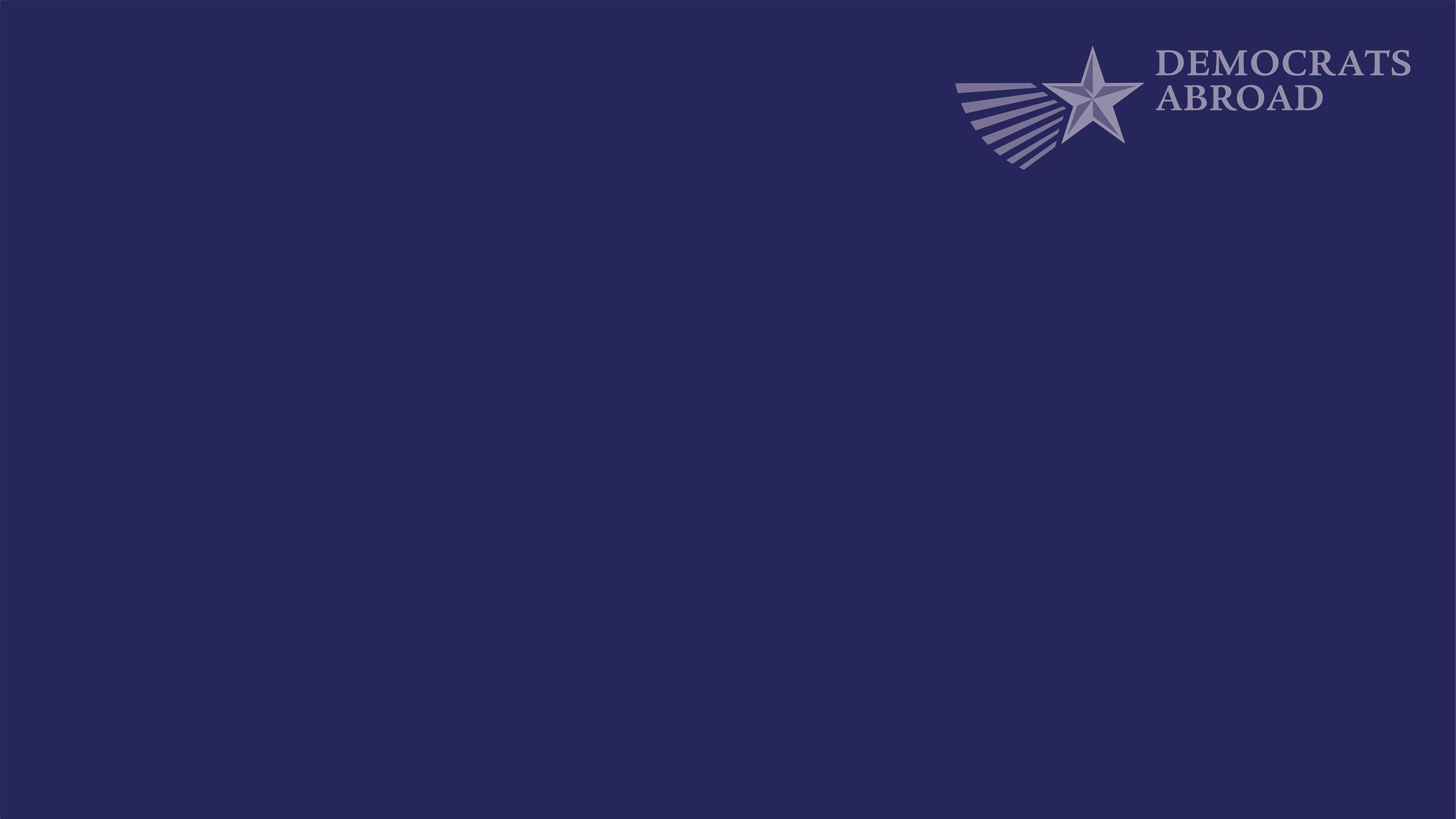 DA plain dark blue zoom background