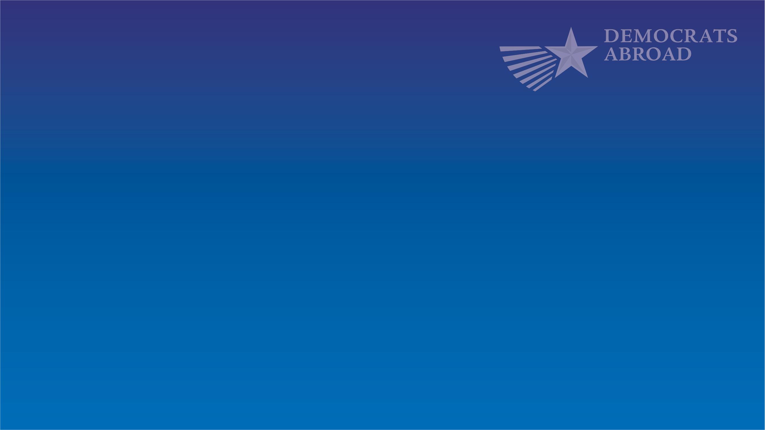 DA blue gradient background