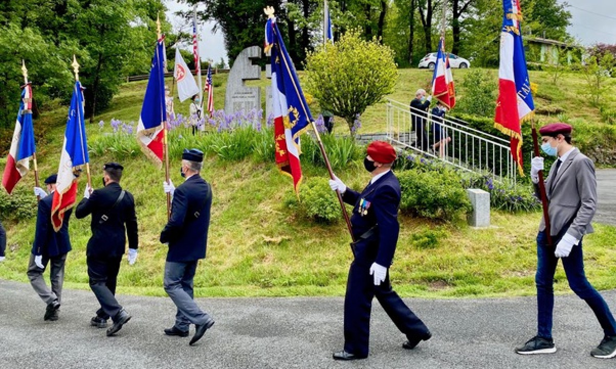 In the south Tarn in the village of Le Rialet is a site called Betgès— where two OSS men were killed during an ambush by a Nazi column on Aug 12, 1944.