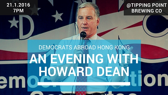 An Evening with Gov Howard Dean