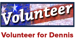 Volunteer for Dennis