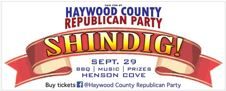 Shindig! 2018 - a Haywood Republican Party