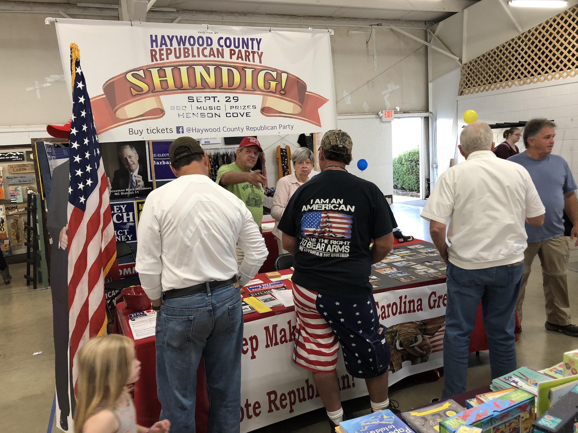 Haywood County Fair Booth 2018
