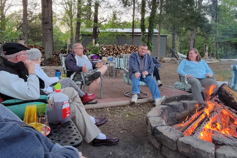 Fireside chat fun