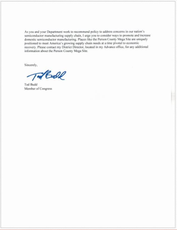 RepBudd's letter to DeptofCommerce re Person Co