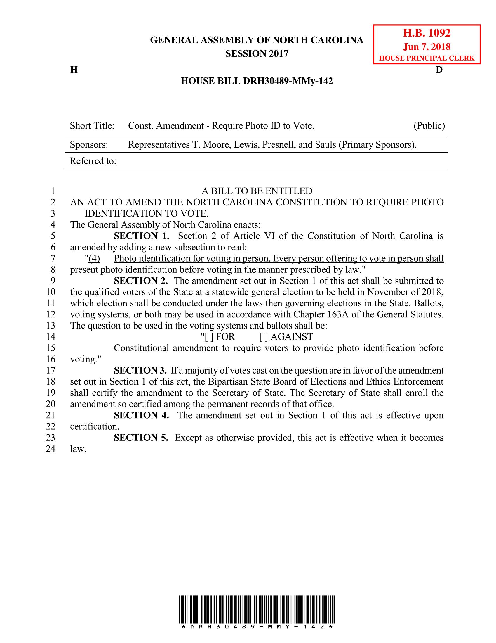 House Bill DHR30489