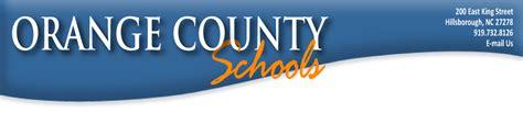 Orange County Schools September Update
