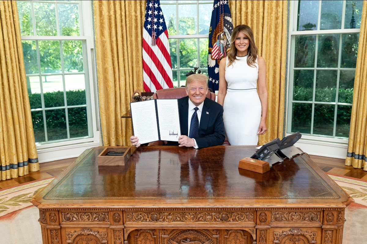 President Trump Signs Historic Child Welfare Order