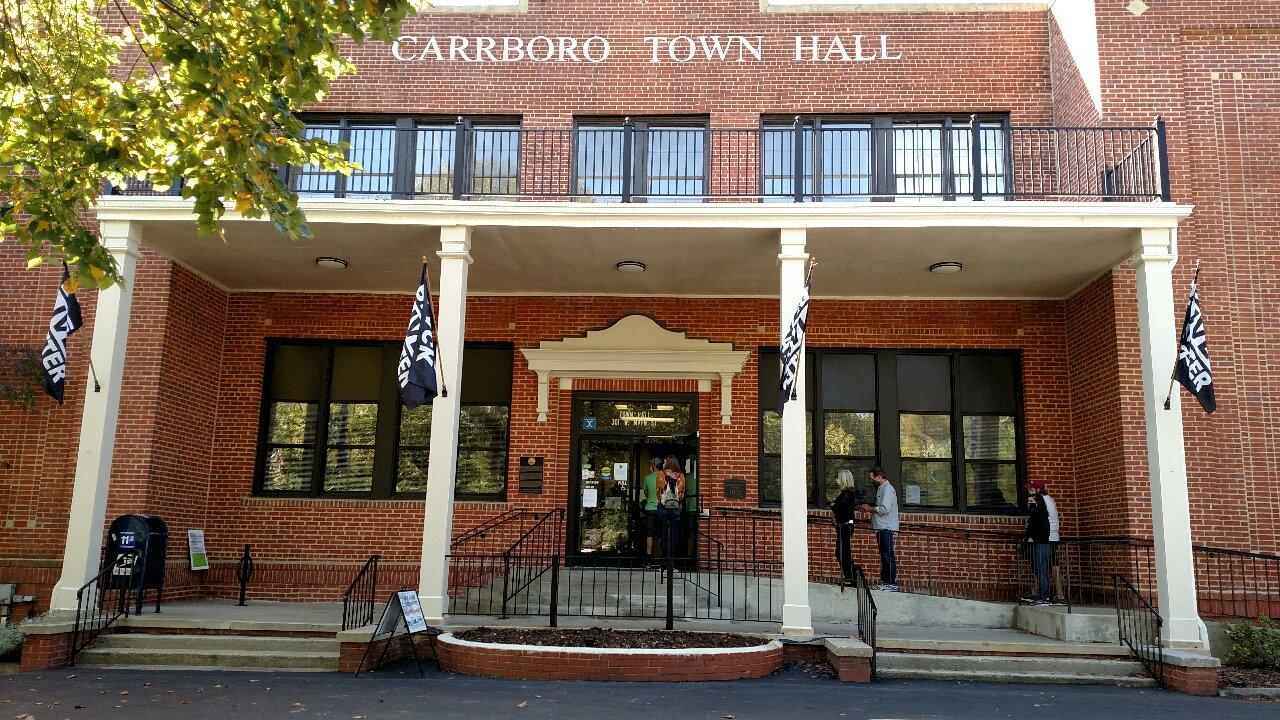 Statement on Voter Intimidation in Carrboro