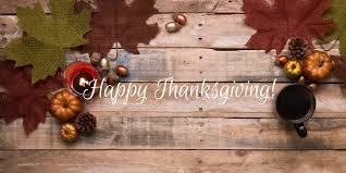 Thanksgiving Message