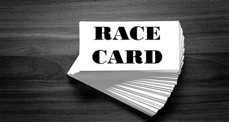 Playing the Race Card