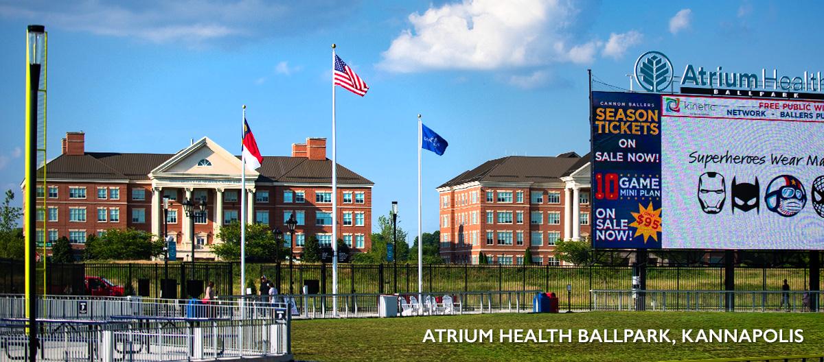 Atrium Health Ballpark, Kannapolis