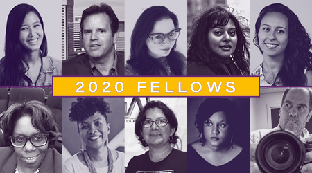 Images of our ten 2020 Fellows