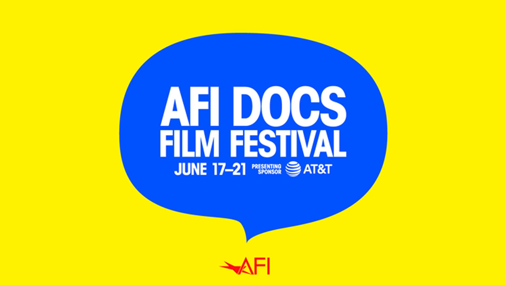 Image of the AFI Docs 2020 Film Festival logo