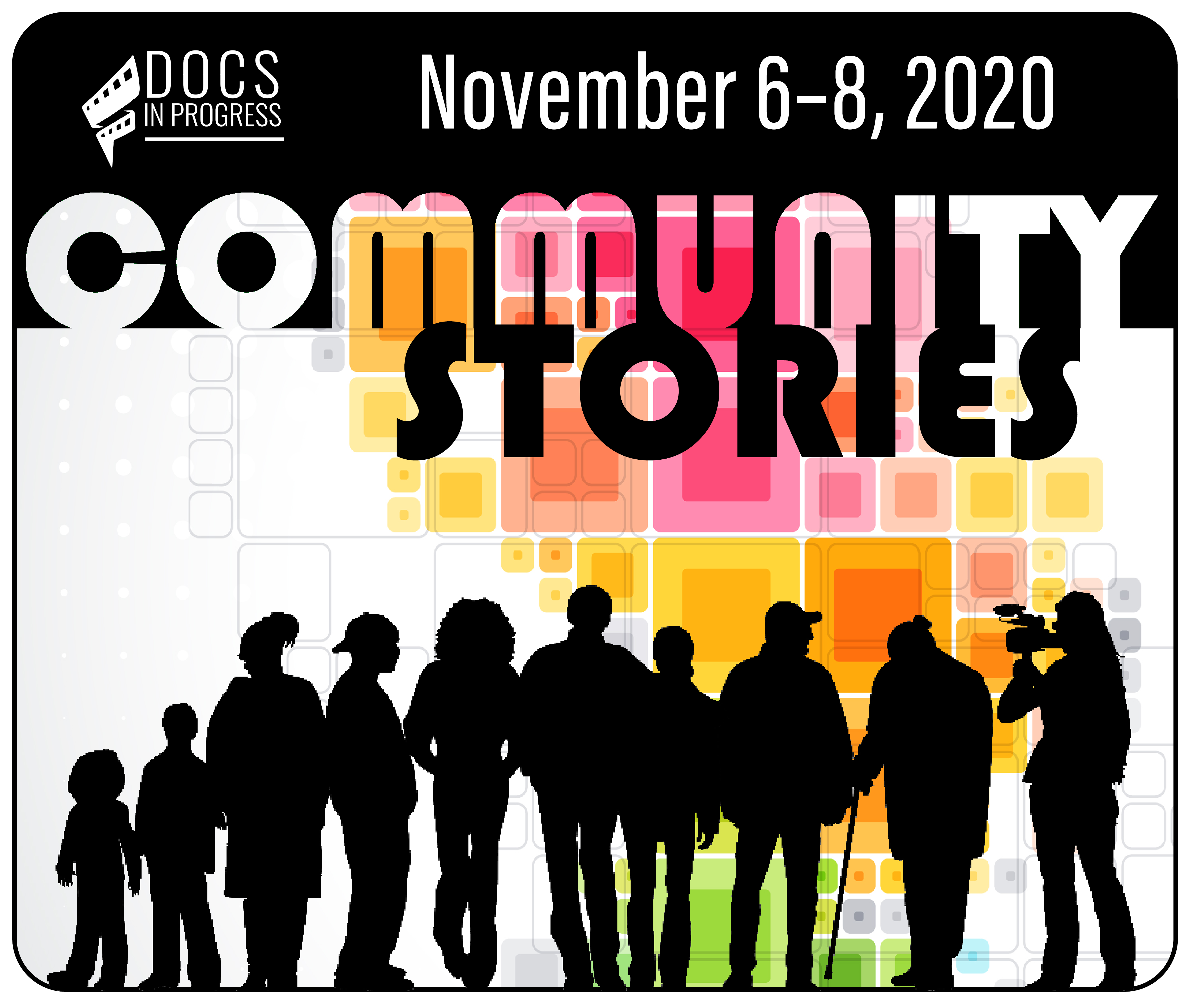 Logo of Community Stories Film Festival 2020