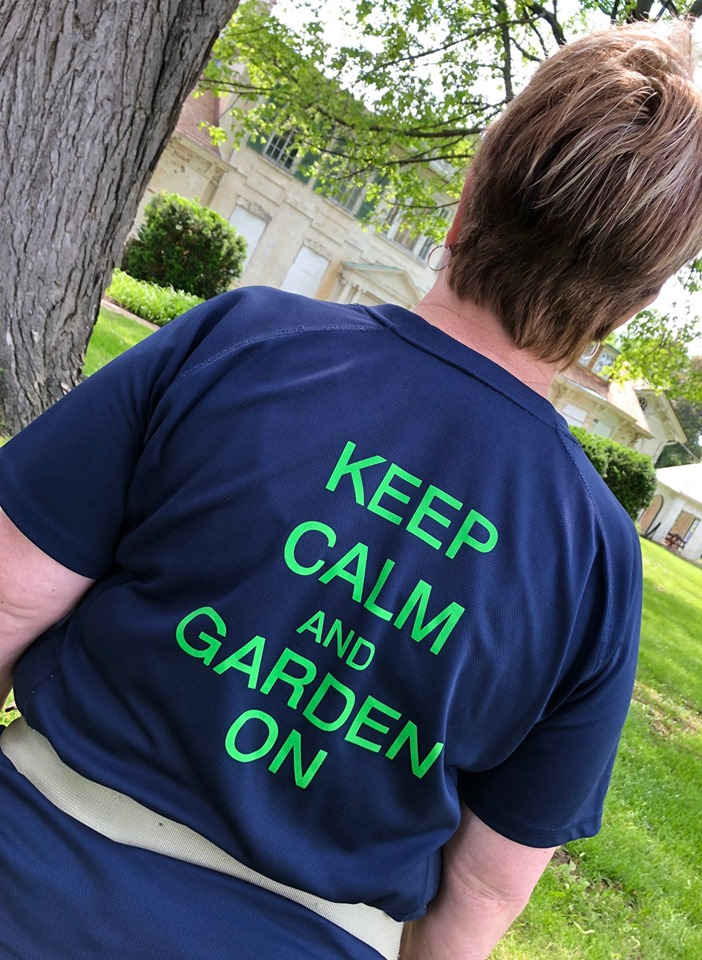A Keep Calm and Garden On T-Shirt