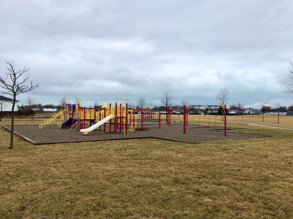 The playground at Jack Purdie Park