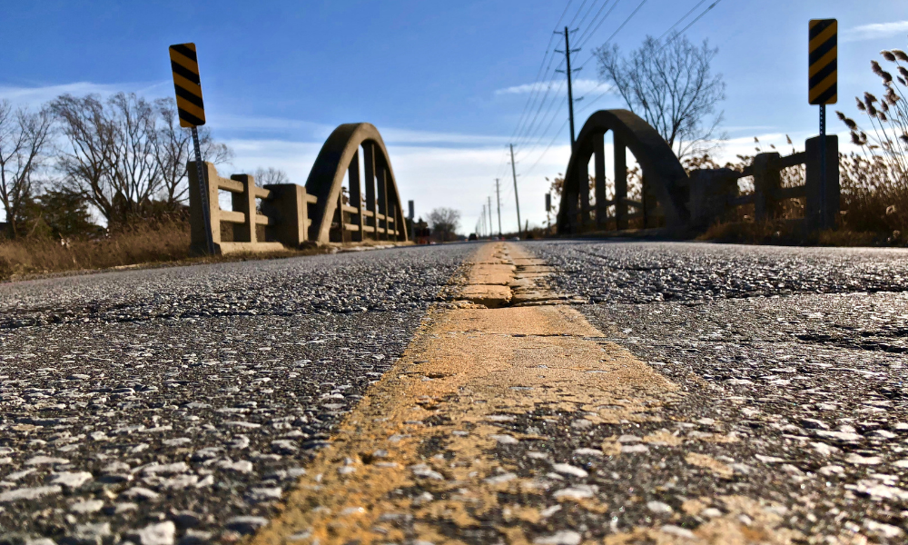 The bridge over Long Marsh Drain on Concession Road 2 North in Amherstburg