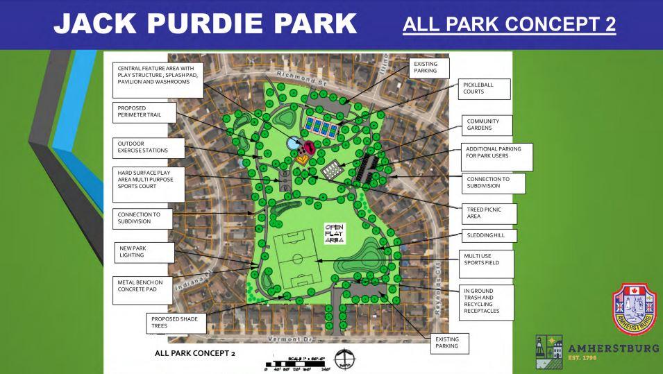 Jack Purdie Park Concept Plan 2