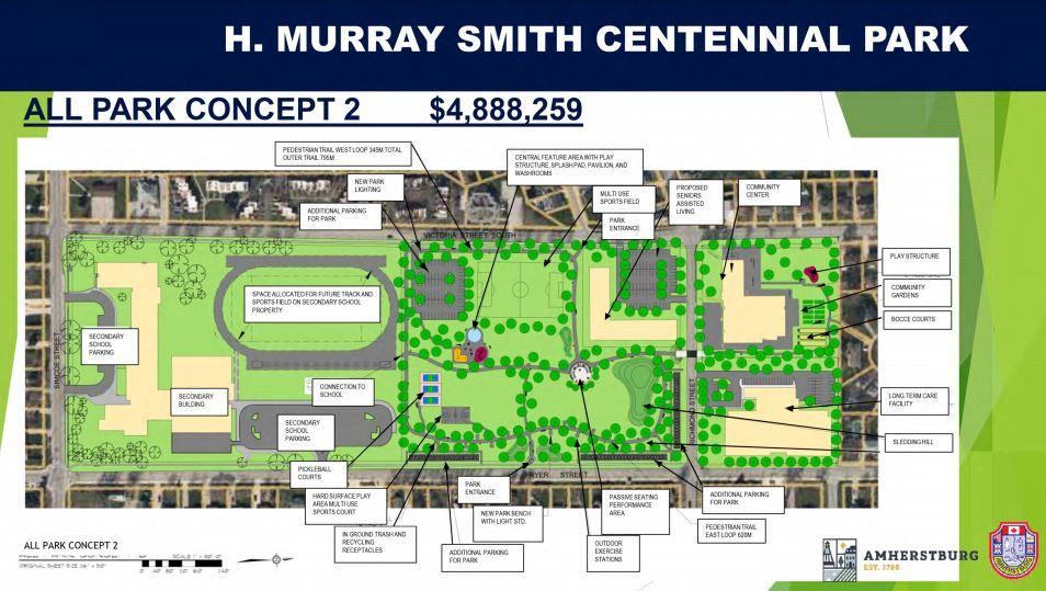 Centennial Park Concept 2