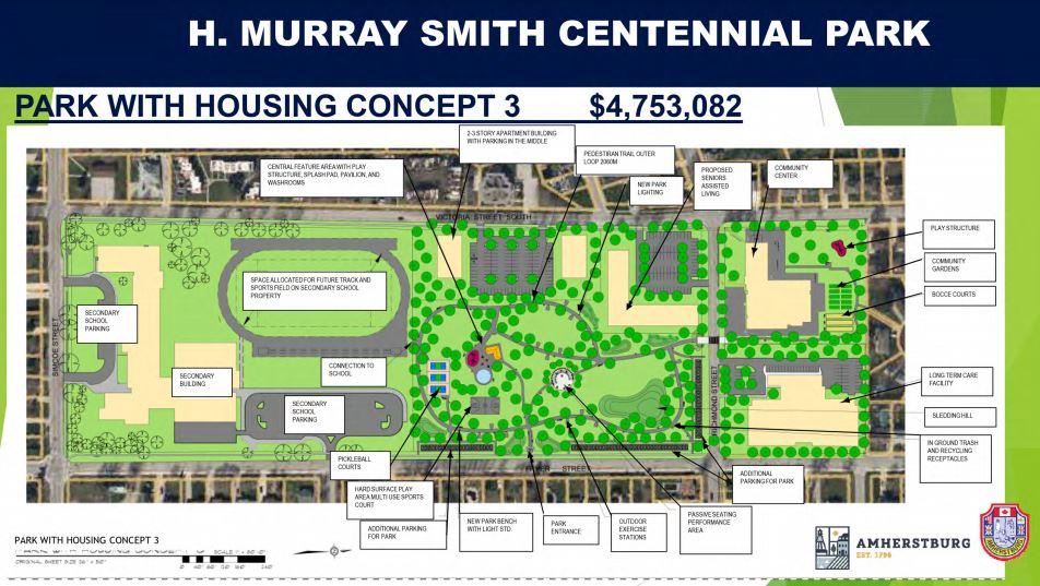 Centennial Park Concept 3